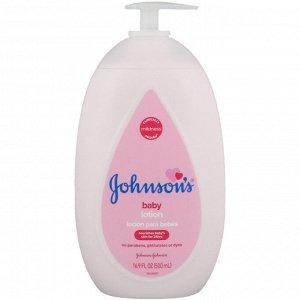 Johnson & Johnson, Baby Lotion, 16.9 fl oz (500 ml)