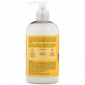 SheaMoisture, Лосьон для тела, с ладаном и миррой, для всех типов кожи, 13 ж. унц. (384 мл)