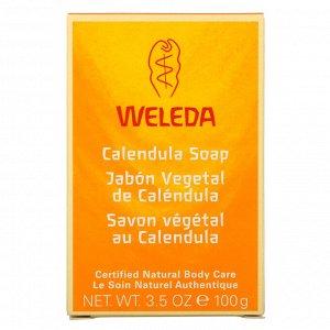 Weleda, Мыло с календулой, 100 г (3,5 унции)