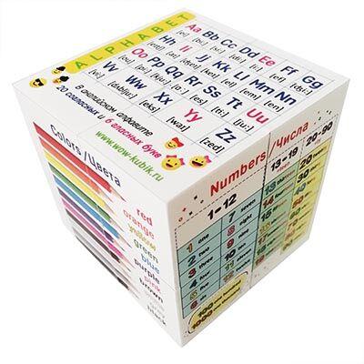 WOW кубики-3 Знания-Игра-Моторика Главный помощник в учебе