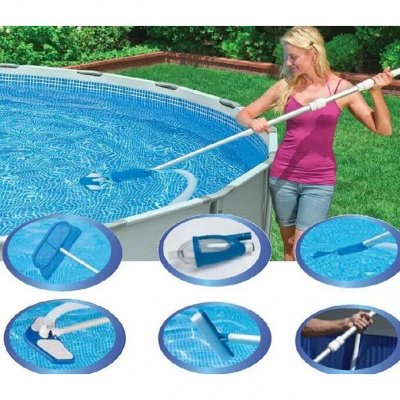 61*Товары для спорта, туризма и путешествий* — Комплектующие и аксессуары для бассейнов! — Плавание