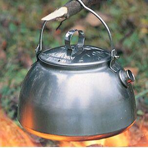61*Товары для спорта, туризма и путешествий* — Металлические чайники — Посуда для чая и кофе
