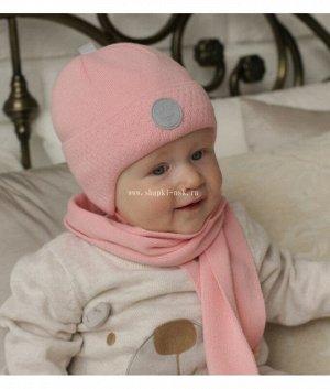 DK1-1610 (38-40) (шапка,шарф) Комплект