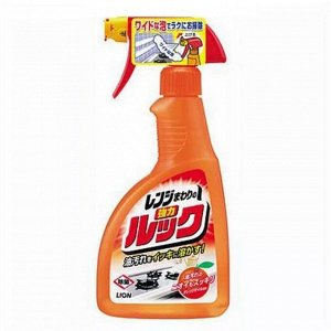 """142065 """"Look"""" чистящее средство для плит с эфектом распыления и ароматом апельсина 400мл"""