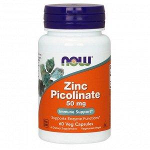 NOW Zinc Picolinate 50 mg