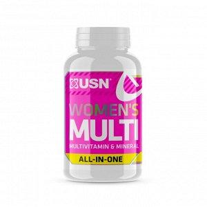 USN Women's Multi Витамины для женщин с витамином D3 5000