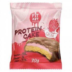 FitKit Протеиновое печенье с суфле (не содержит сахара)