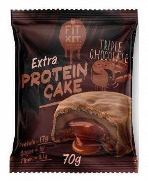 FitKit Протеиновое печенье EXTRA (не содержит сахара)