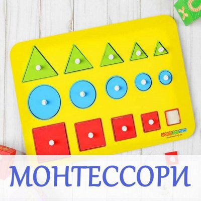 Деревянные игрушки и вкладыши — Монтессори — Деревянные игрушки