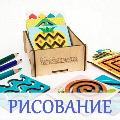 Развивающие деревянные игрушки! Новинки! — Для рисования — Игрушки и игры