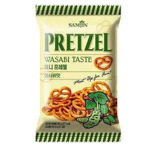 "Претцели  со вкусом васаби ""Самджин"", 85 гр"