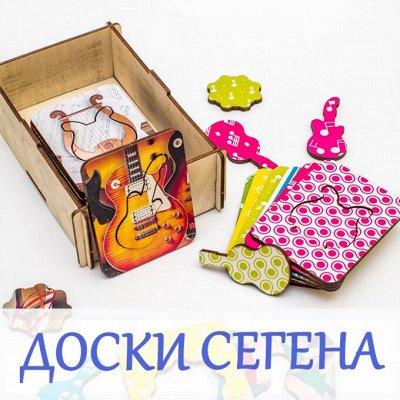 Деревянные игрушки и вкладыши — Доски Сегена — Деревянные игрушки