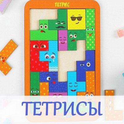 Деревянные игрушки и вкладыши — Тетрисы — Деревянные игрушки