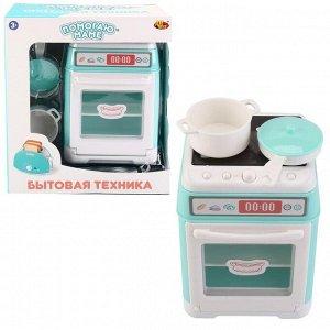 Игровой набор ABtoys Помогаю маме Бытовая техника Электрическая плита629