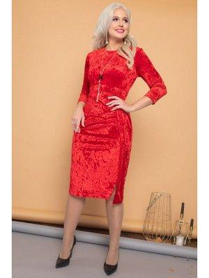 Платье ЛИЛИ царственный красный
