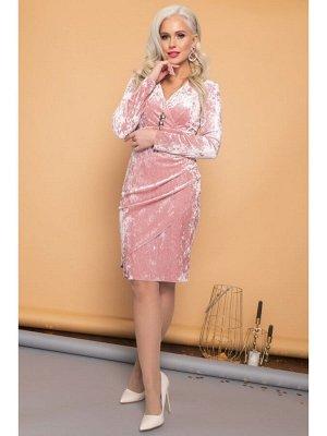 Платье ОЛЬГА нежный розовый