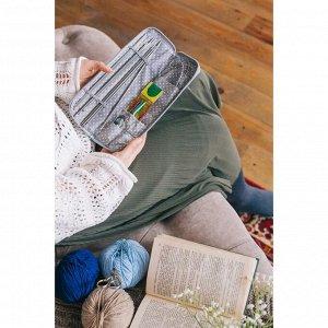 Набор для вязания «Свитер», 27 ? 8 см, 33 предмета, в пенале