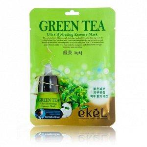 Тканевая маска с зеленым чаем Green Tea Ultra Hydrating Essence Mask