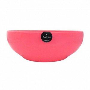 Салатник Фолио розовый 16см