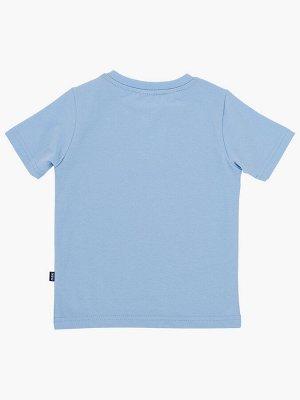 "Футболка ""BOSS"" (122-146см) UD 0787(40)св.голуб"