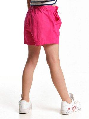 Шорты для девочки (98-122см) UD 6425(2)малина