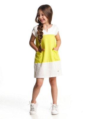 Платье (98-122см) UD 2995(1)неон