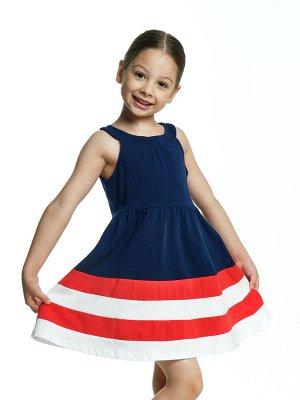 Платье (92-116см) UD 2909(1)синий
