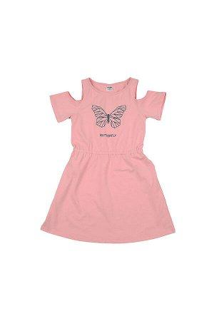 Платье (122-146см) UD 4510(1)розовый