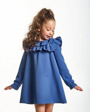 *Платье (92-116см) UD 7033(3)серо-синий