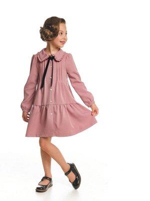 Платье (98-122см) UD 7161(2)т.розовый