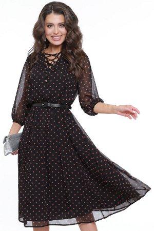 Платье Чувство прекрасного, шик, с ремешком