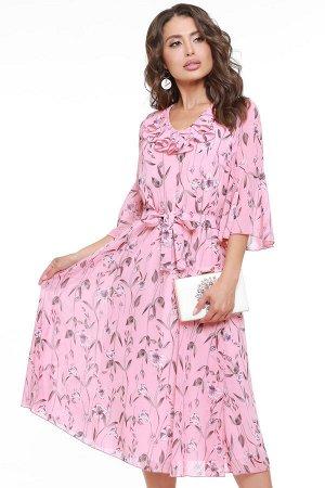 Платье Любовное настроение, пинк