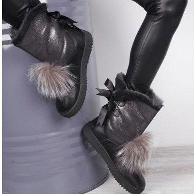 PINIOLO 66! Новинки зимы 2020 + Мега SALE  Турция до 50%!  — Зимняя обувь! Нат кожа, нат мех! Ряды! — Для женщин