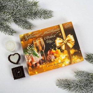 Набор свечей в коробке «Чудесных мгновений в Новом году», 6 свечей, 14 х 10 х 1,8 см
