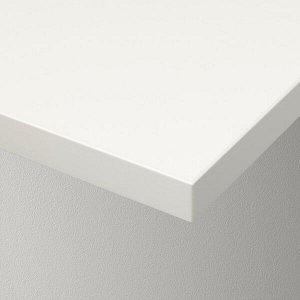 БЕРГСХУЛЬТ Полка, белый80x30 см