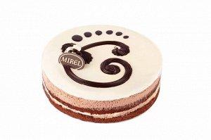 Торт Три шоколада, MIREL, Хлебпром, 900 г
