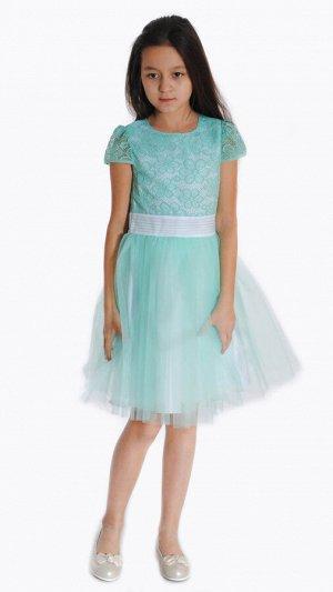 Платье зелёный