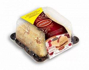 Торт Наполеон с малиной, MIREL, Хлебпром, 580 г