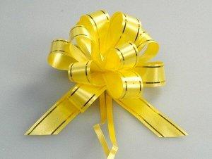 """Подарочный бант-шар в ассортименте """"Золотая полоса"""""""