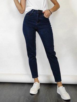 Зауженные синие джинсы размер 26