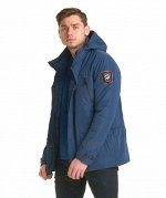Практичная демисезонная мужская куртка Hermzi, цвет Blue СИНИЙ