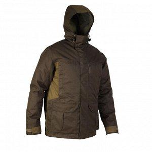 Теплая водонепроницаемая куртка для охоты 500 SOLOGNAC
