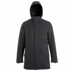Куртка для треккинга 3 в 1 водонепр. с темп. комфорта –15°C мужская TRAVEL 700 FORCLAZ
