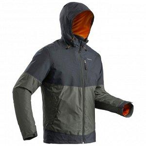 Куртка для зимних походов водонепроницаемая SH100 Х– WARM мужская QUECHUA