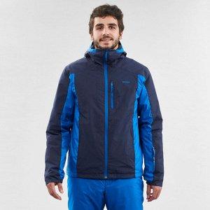 Куртка лыжная мужская синяя 180 wedze