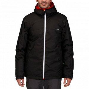 Куртка лыжная мужская черная 100 wedze