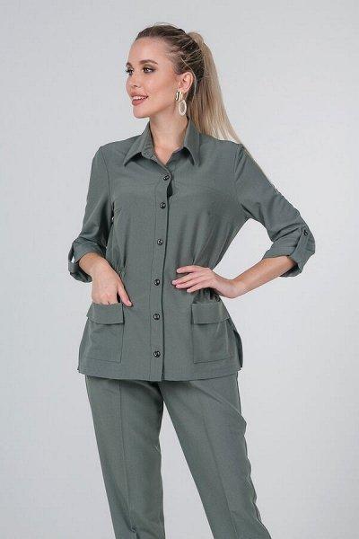 Элегантные блузки и стильные рубашки от Valentina dresses. — Костюмы — Костюмы с брюками
