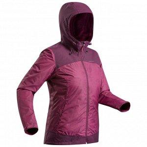 Куртка теплая водонепроницаемая для походов SH100 Х–WARM женская QUECHUA