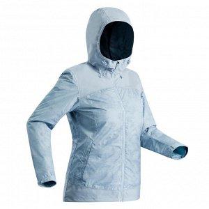 Куртка SH100 XSH100–Warm непромокаемая женская QUECHUA