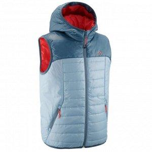 Жилет Детский стеганый жилет: теплый, легкий и компактный. Утеплитель из синтепона для максимальной теплоизоляции, а также водоотталкивающие свойства для защиты Вашего ребенка от мелкого дождя.